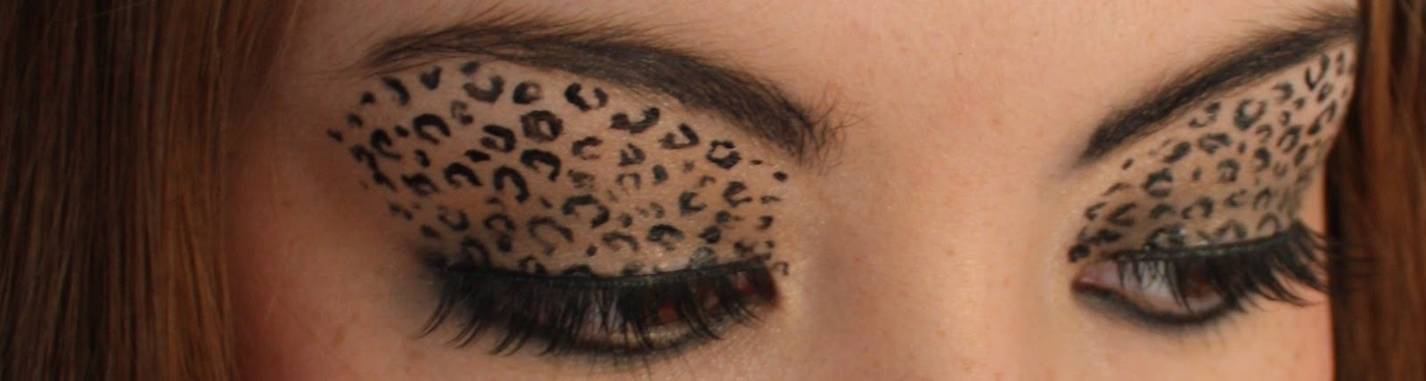 Leopard Eye Makeup Theme