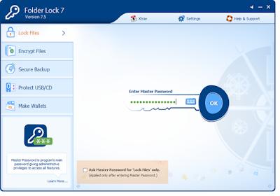 تحميل برنامج قفل الملفات والفولدرات بكلمة سر وباسورد
