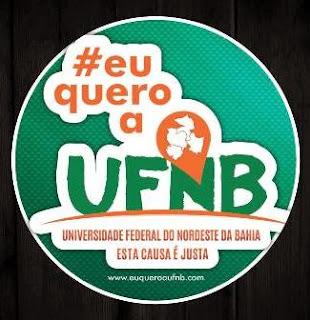 #EuQuero UFNB