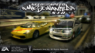 Need For Speed: Most Wanted ISO, CSO PSP