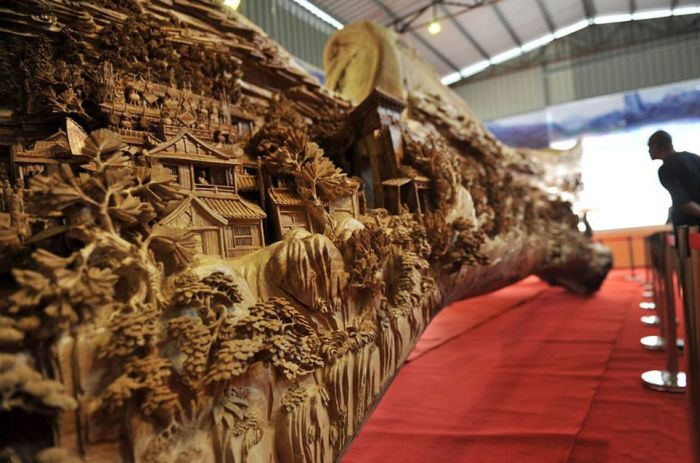 The best wood carvings on the oregon coast