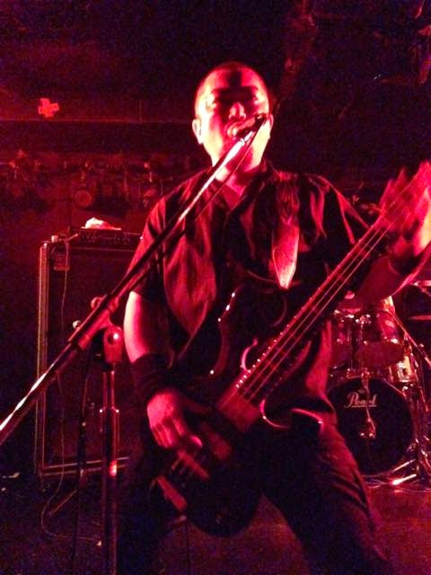 Anatomia performing at Okubo Earthdom in Tokyo