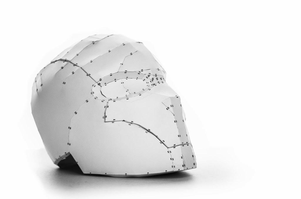 Papercraft Templates For Red Hood Helmet Papercraft