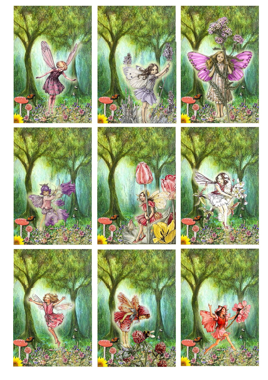 great fun etc fairy party with printables