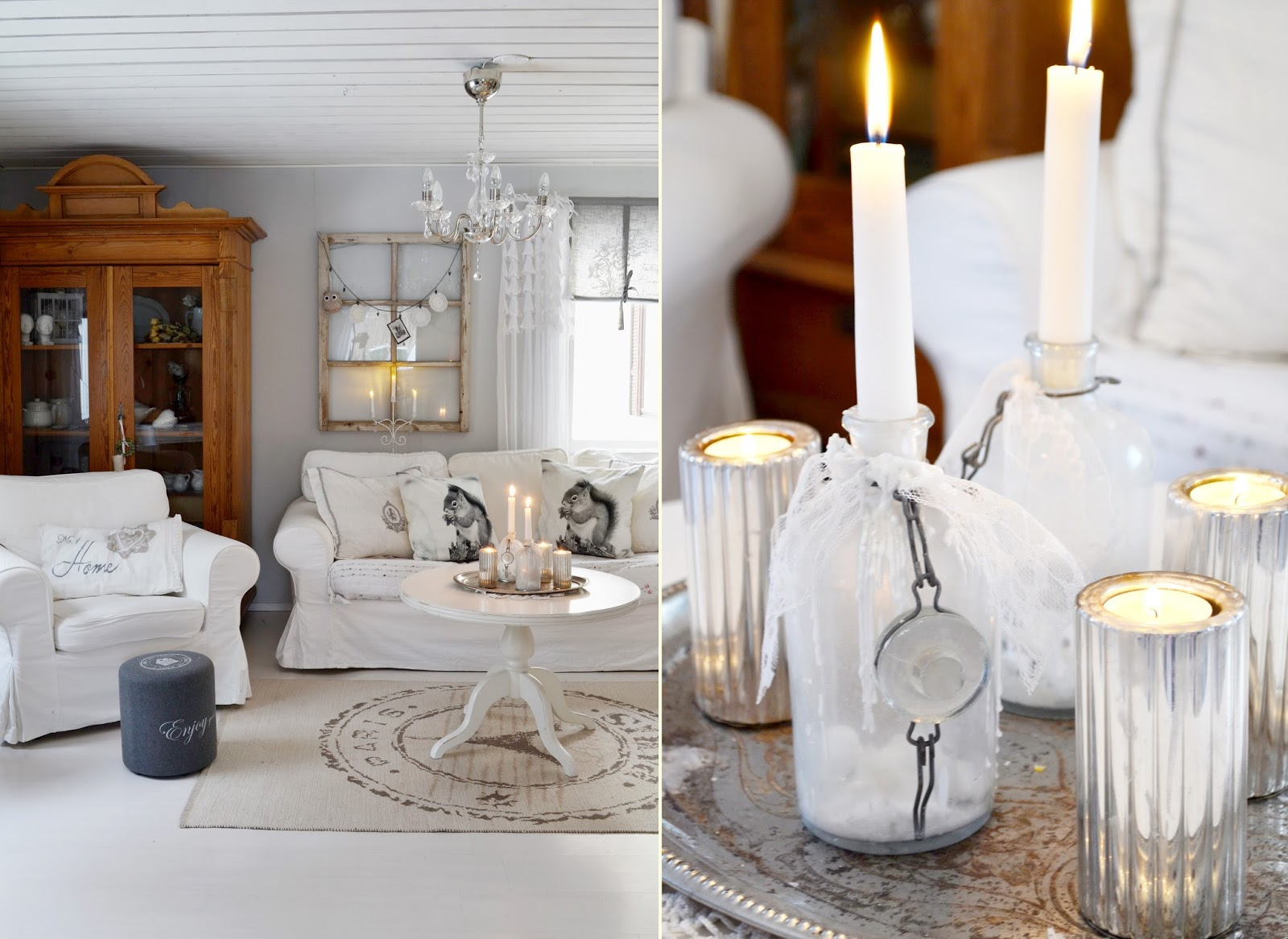Shabby and charme shabby chic a casa di hanne for Case arredate stile shabby