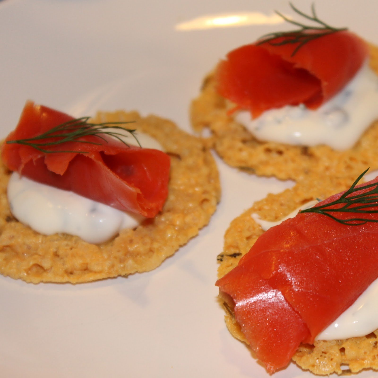 Smoked Salmon Crisps I Can Cook That