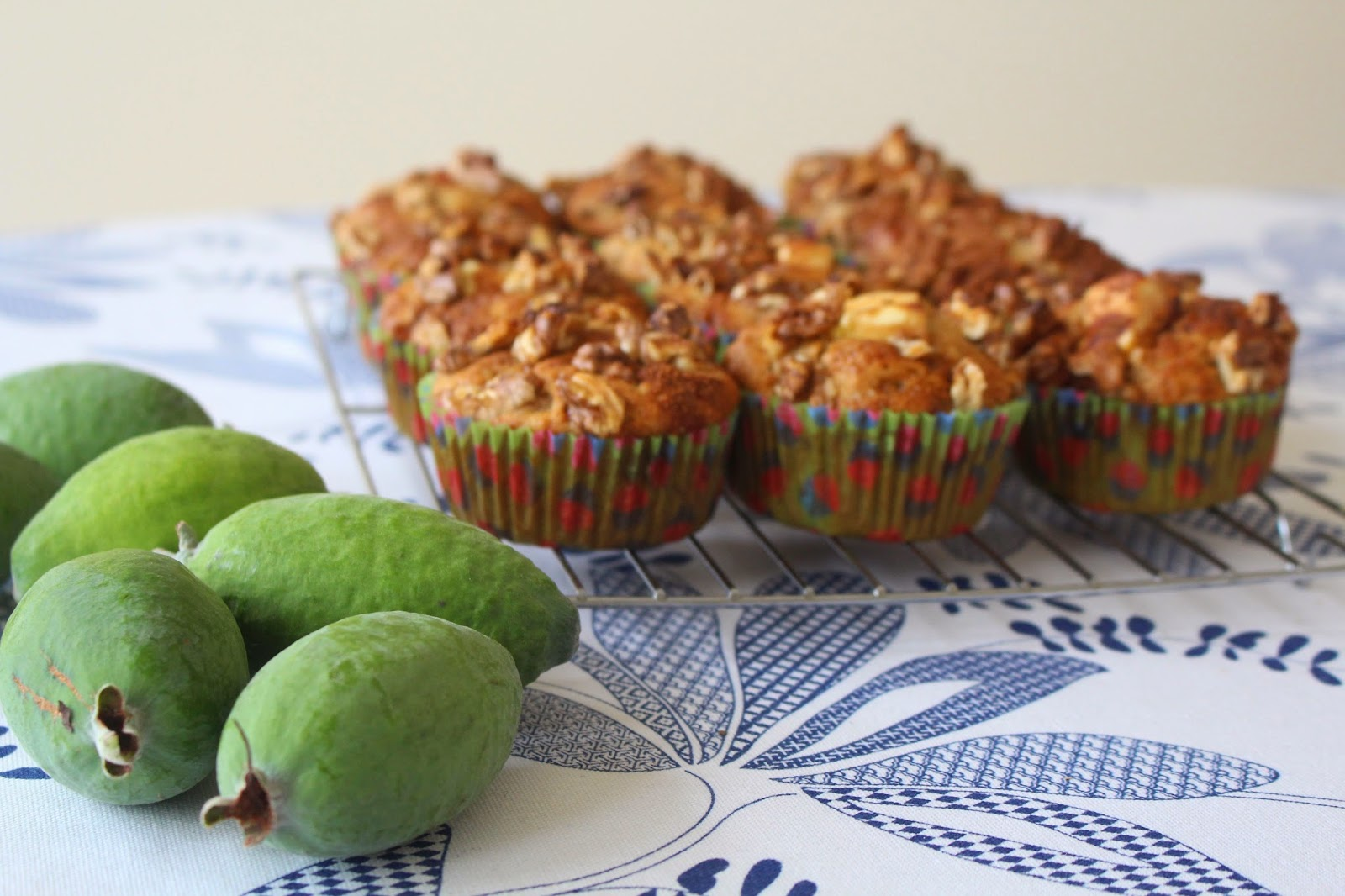 Incredibly Edible Feijoa Muffins With Walnut Amp Cinnamon