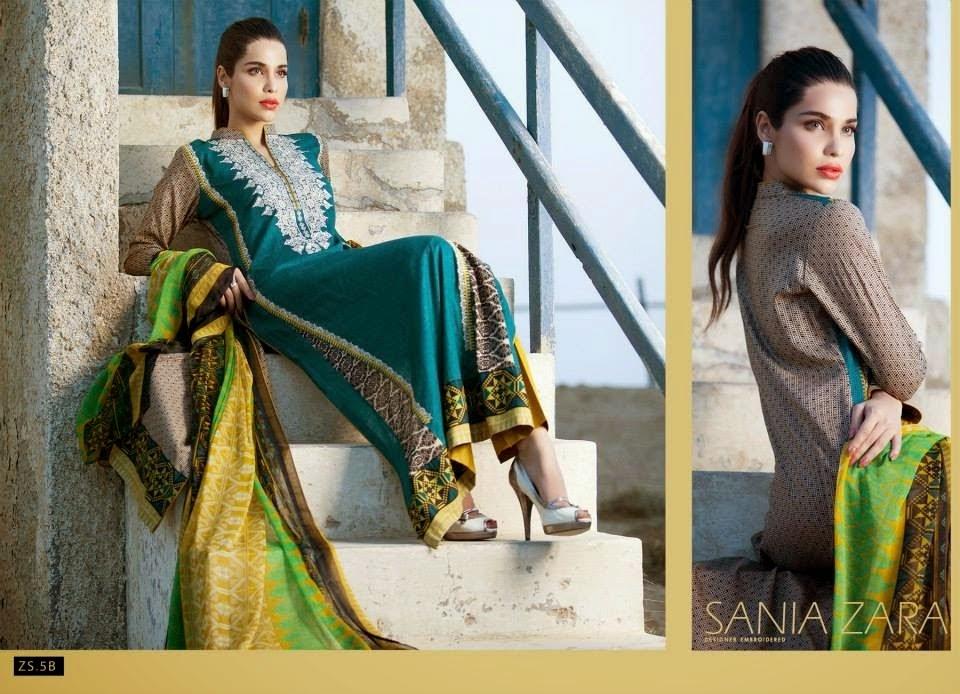 Sania zara designer dress