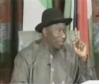 Eid-El-Kabir Message By President Goodluck Jonathan