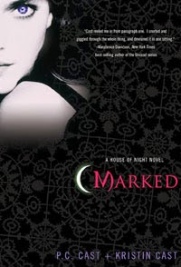 Cover of Marked, the first novel in the series | House Of Night
