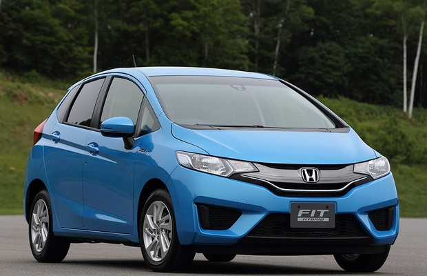 Frente do novo Honda Fit 2014