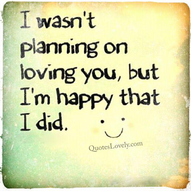 I'm happy that i did