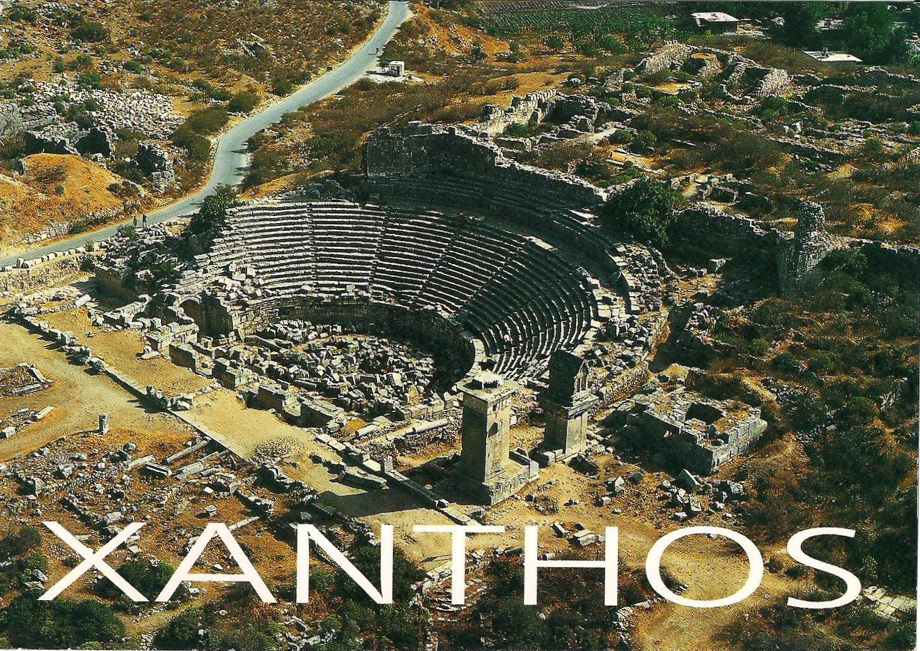 MY UNESCO WHS POSTCARDS COLLECTION: TURKEY - Xanthos-Letoon