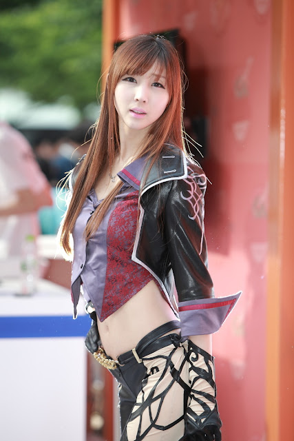 6 Lee Yoo Eun - Dungeon & Fighter 2012-very cute asian girl-girlcute4u.blogspot.com