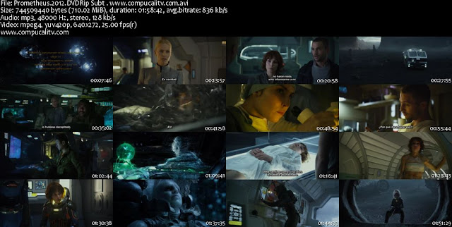 Prometheus (2012) DVDRip Español Latino