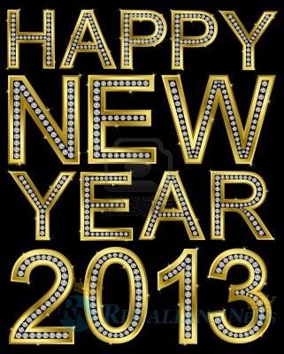 Wallpaper Tahun Baru 2013