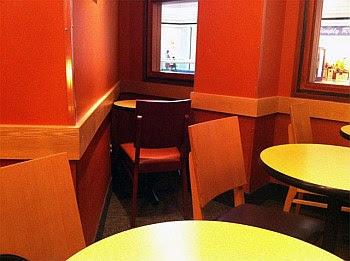 stolik, restauracja, samotność, osobno