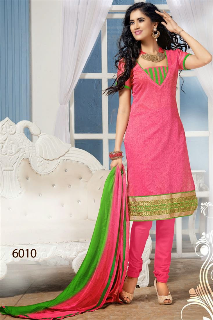 Elegant Chanderi Cotton Suit