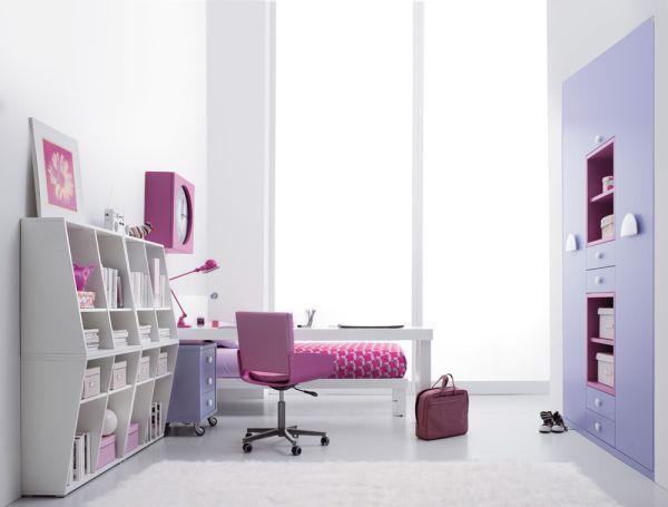 идея дизайна интерьера комнаты для подростка
