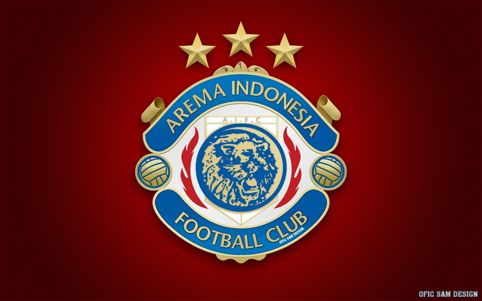 Gambar Wallpaper Arema Terbaru Indonesia 2011 Hd Wallon Logo