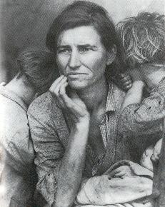 Homeless Woman with Two Children