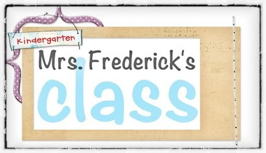 Mrs. Frederick&#39;s Kindergarten