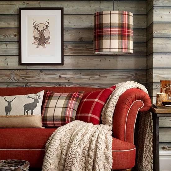 geyikli dekoratif yastık