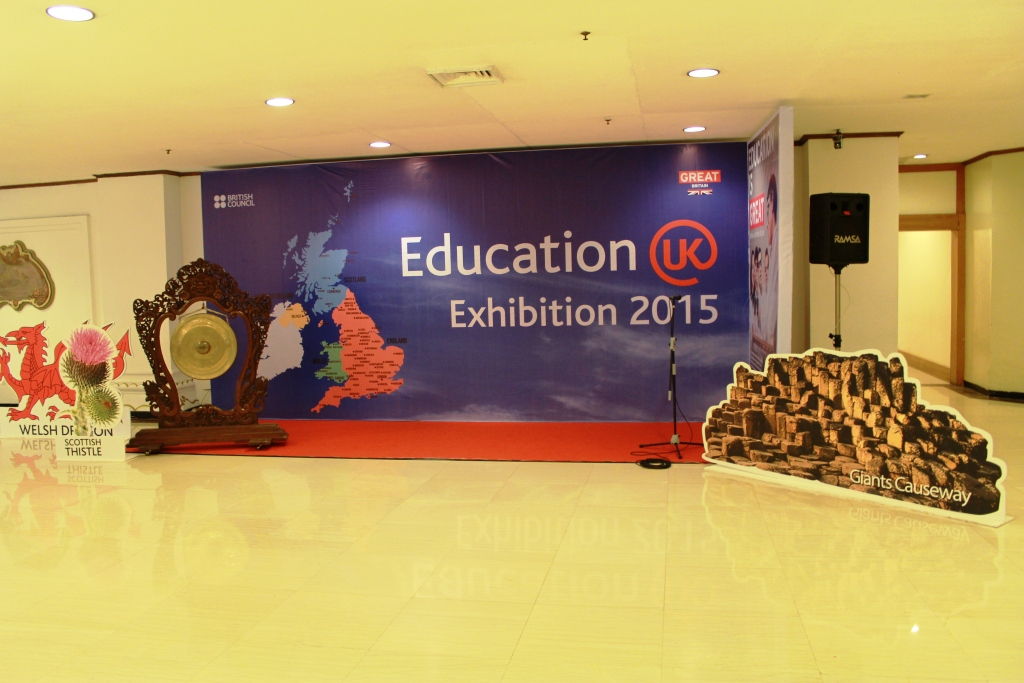 BRITISH COUNCIL @ Study in UK, Jakarta