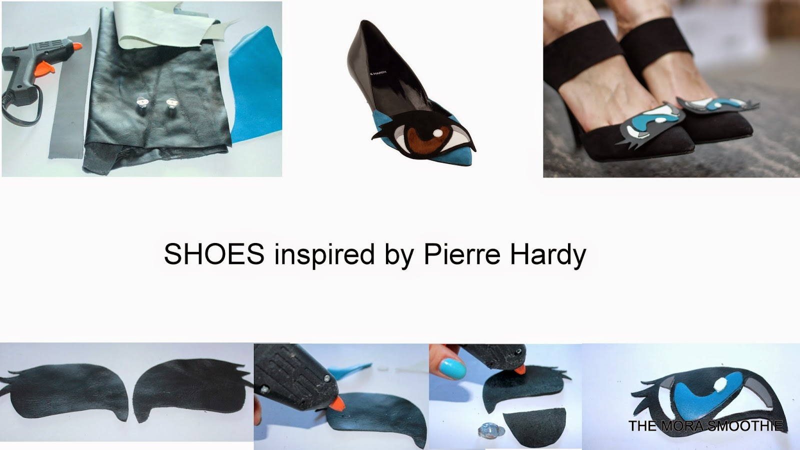 diy, diy shoes, pierre hardy, oh roy, diy pierre hardy, occhio, eyes, fashion, fashion shoes, tutorial shoes, fashionblog, fashionblogger, diycraft, craft, project, themorasmoothie