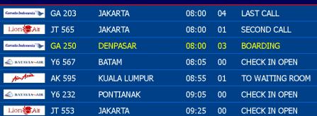 jadwal penerbangan domestik, internasional