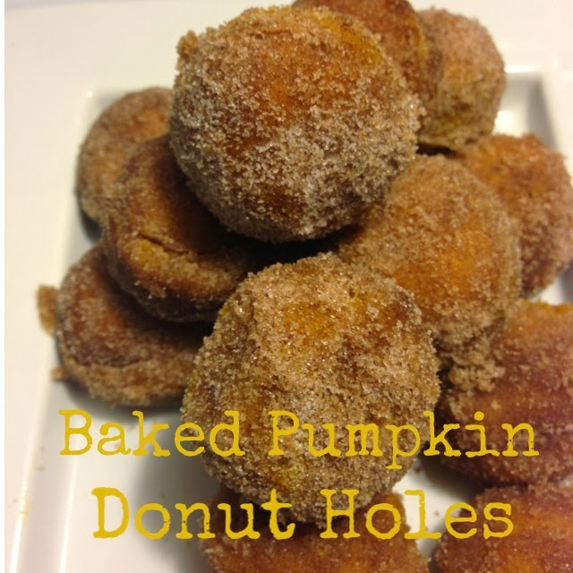 Baked Pumpkin Donut Holes Recipe — Dishmaps