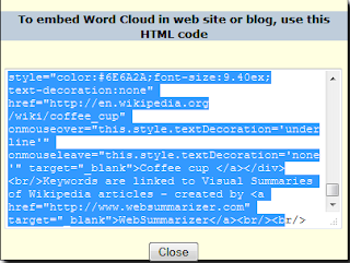 WebSummarizer - embedding in Blogger