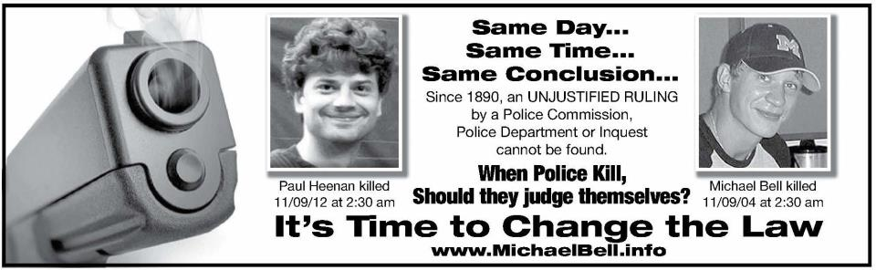 Demanding Justice For Paul Heenan >> While We Still Have Time