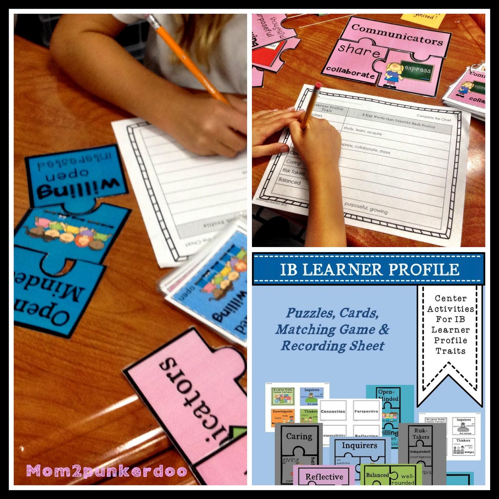 IB Learner Profiles