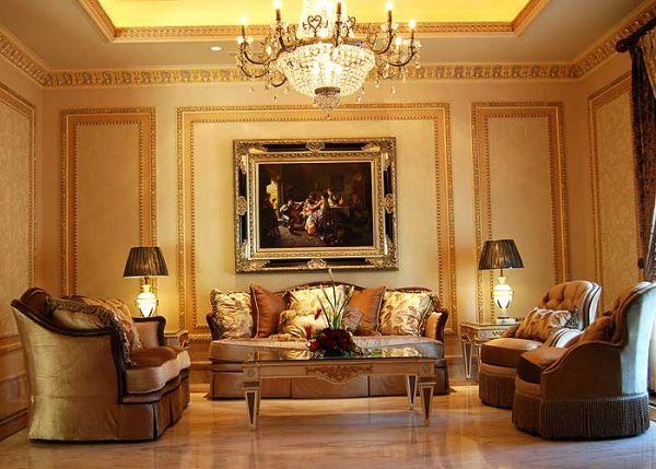 Classic style interior decoration home decorations for Classic house decorating ideas