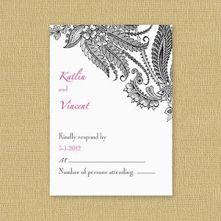 Lace Respond Cards