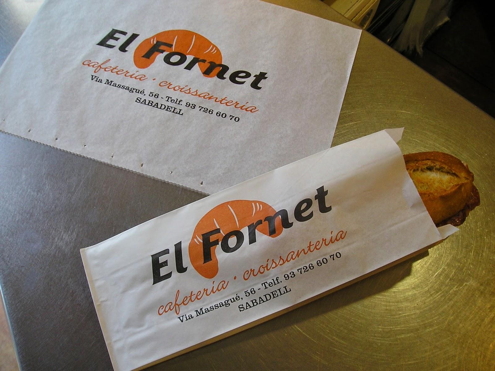 bolsa para bocadillo de papel impreso