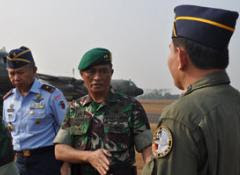 Mayjen TNI Daniel Ambat Cek Kesiapan Latihan PPRC 2012