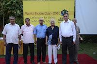 JD Institute celebrates World Elder's Day