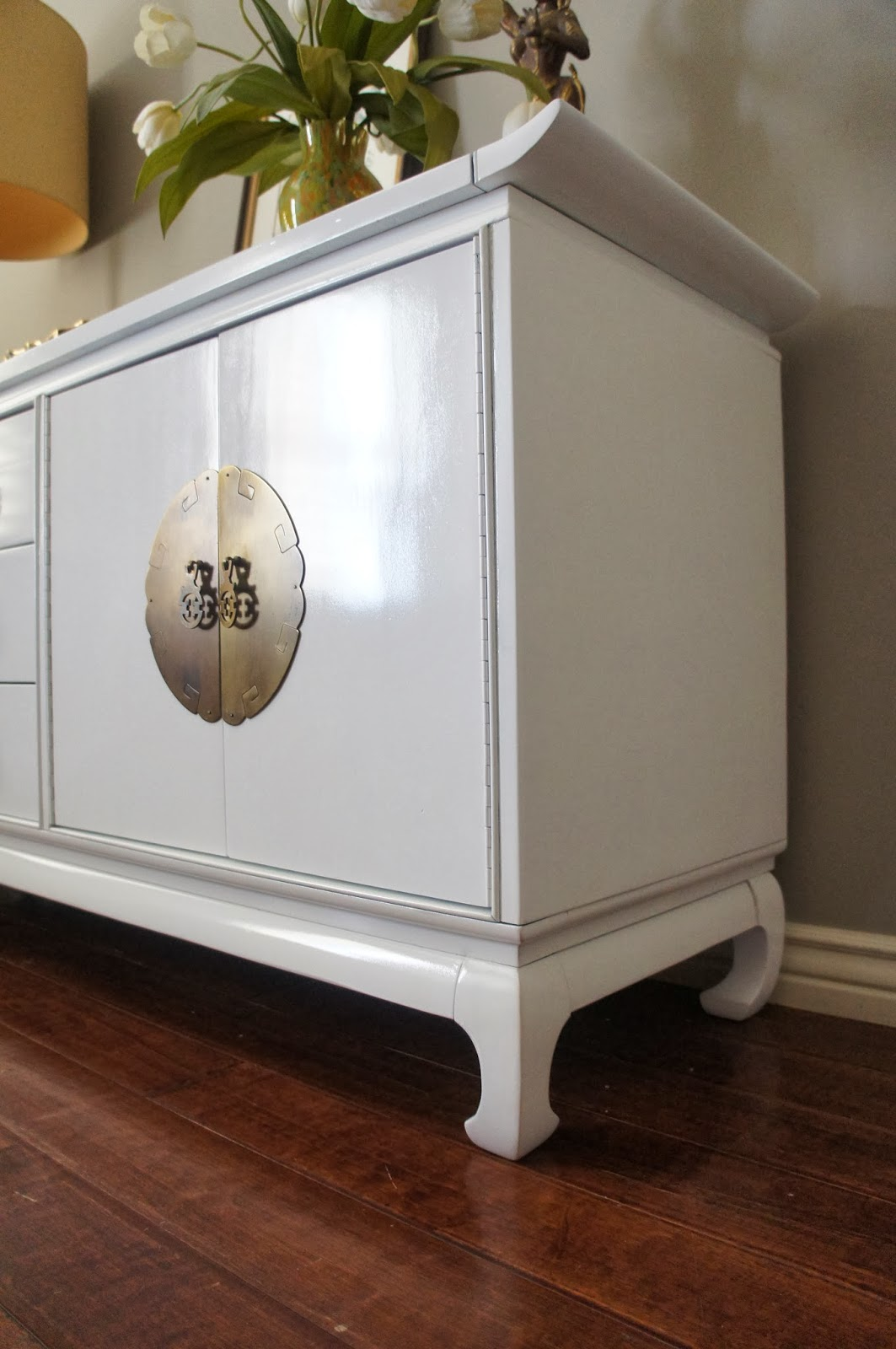 Hollywood Regency Kent Coffey Asian Dresser