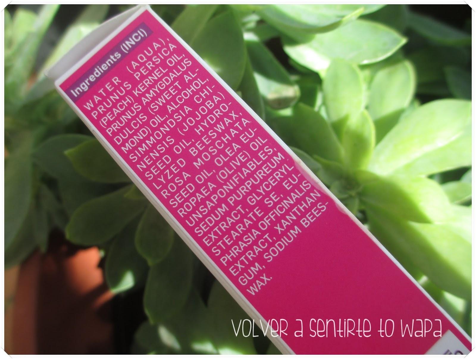 Contorno de ojos Rosa Mosqueta de WELEDA - ingredientes