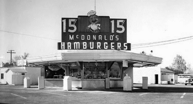 one of the first McDonald's ever