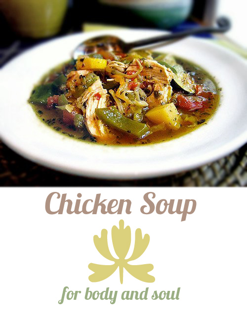 Gluten-free chicken soup recipe from Karina. For body and soul.