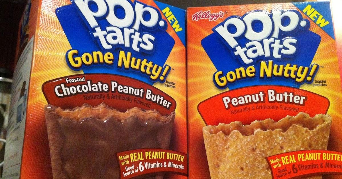 FATGUYFOODBLOG: Pop-Tarts Gone Nutty: Peanut Butter ...