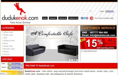 dudukenak.com jual kursi kantor