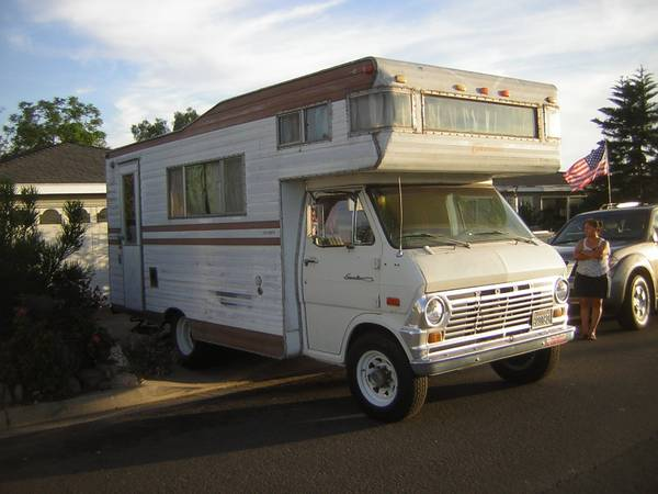 Used rvs 1970 ford motorhome for sale for sale by owner for Classic motor homes for sale