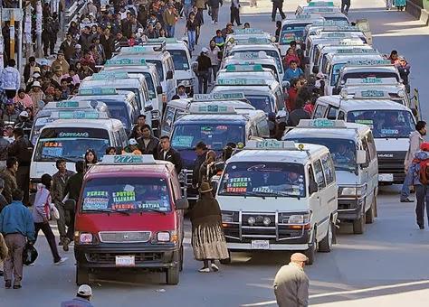 La Ceja: el lugar más contaminado de El Alto