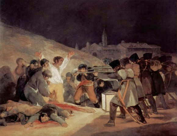 Lukisan Francisco Goya The third of May 1808
