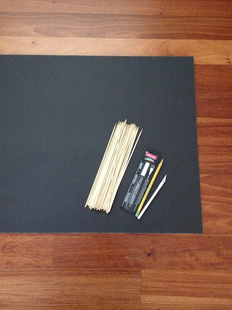 $5 DIY Photo Booth Props - Supplies
