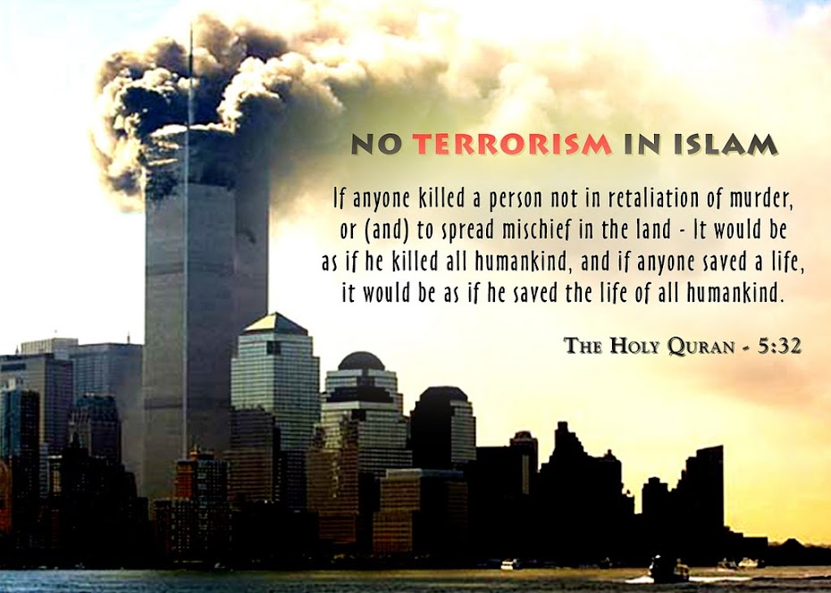 THERE IS NO ROOM FOR TERRORISM IN ISLAM